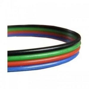 Kabel pro LED pásek RGB, plochá čtyřlinka 4x0,5mm